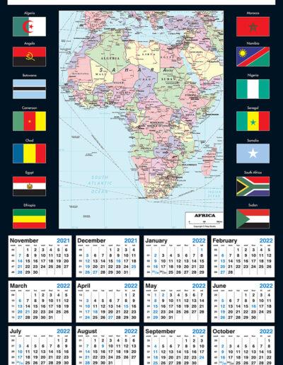 2022 Africa Map